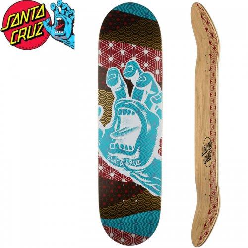 【サンタクルーズ SANTA CRUZ スケボー デッキ】MONYO HAND TAPER TIP DECK[8.25インチ]スクリーミングハンド NO135