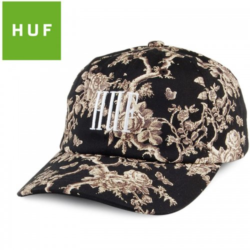 【HUF ハフ キャップ CAP】HIGHLINE CURVED VISOR HAT【ブラック】NO81