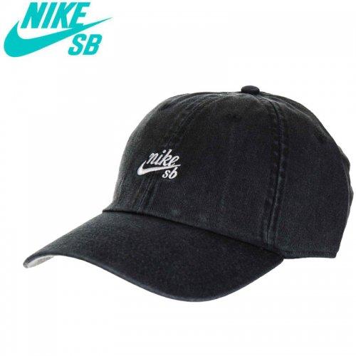 【ナイキ エスビー NIKE SB スケボー キャップ】U NK H86 ICON STRAPBACK HAT【ブラック】NO38