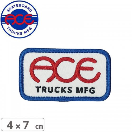 【ACE TRUCKS エース スケボー ワッペン】SEAL STICKY PATCH【4cm×7cm】NO2