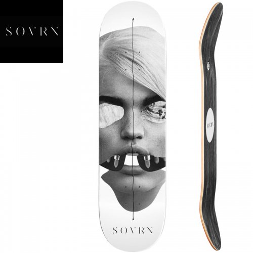 【SOVRN ソバーン スケートボード デッキ】HACK DECK[8.0インチ][8.25インチ]NO3