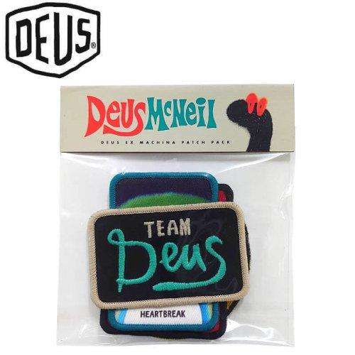 【DEUS EX MACHINA デウス バイク サーフ ワッペン 】GOOFY PATCHES【5枚入り】NO1