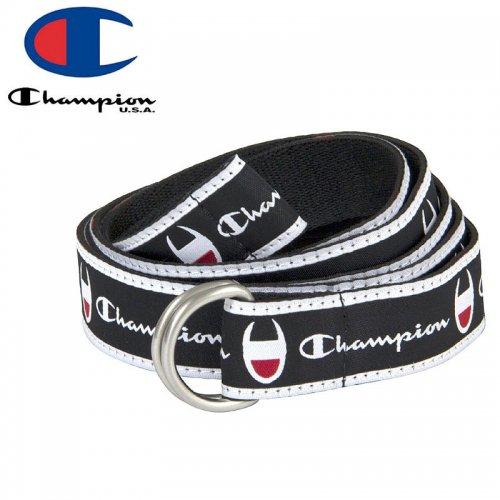 【CHAMPION チャンピオン ベルト】CADET D-RING BELT ブラック NO1
