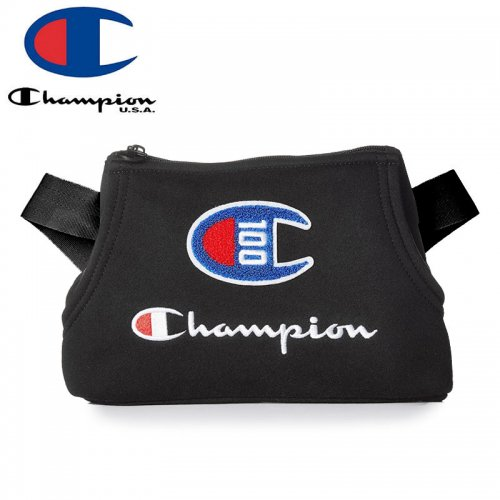 【CHAMPION チャンピオン ウェストポーチ】100 YEAR PRIME SLING PACK ブラック NO3