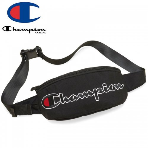【CHAMPION チャンピオン ウェストポーチ】PRIME SLING BAG ブラック NO7