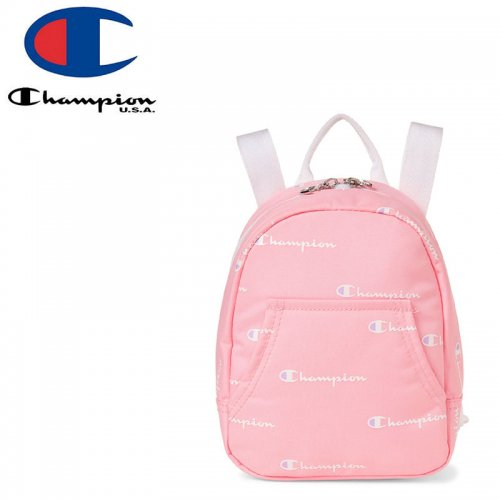 【CHAMPION チャンピオン バックパック】YOUTH MINI CONVERTIBLE BACKPACK ガールズ ピンク NO24