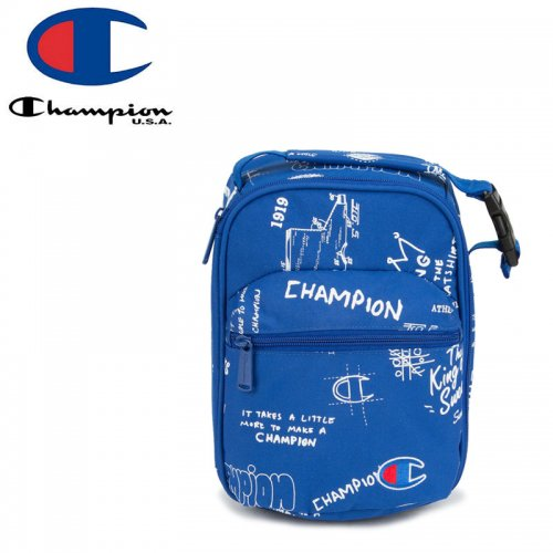 【CHAMPION チャンピオン ランチバッグ】YOUTH SUPERCIZE LUNCH KIT キッズ ブルー NO29