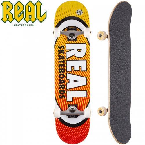 【リアル REAL スケートボード コンプリート】OVAL HEATWAVE COMPLETE[7.75インチ]NO18