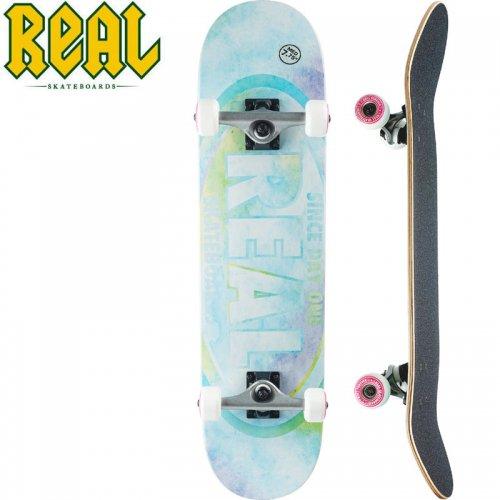 【リアル REAL スケートボード コンプリート】OVAL WATERCOLOR COMPLETE[7.75インチ]NO19