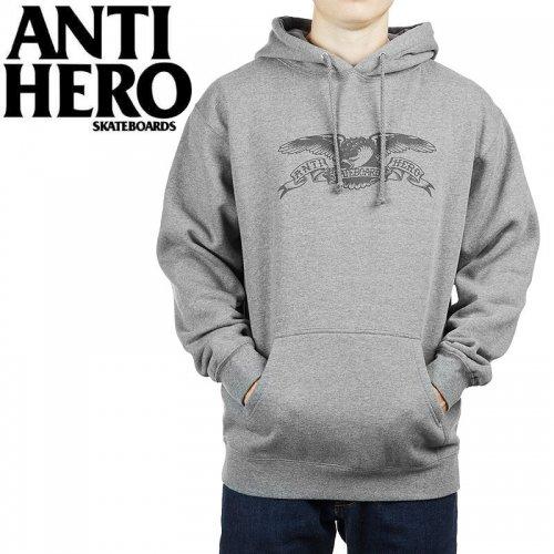 【ANTI HERO アンチヒーロー パーカー】BASIC EAGLE PULLOVER HOODIE【ヘザーグレー】NO11