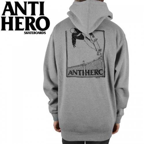 【ANTI HERO アンチヒーロー パーカー】LANCE KANFOUSH PULLOVER HOODIE【ヘザーグレー】NO14