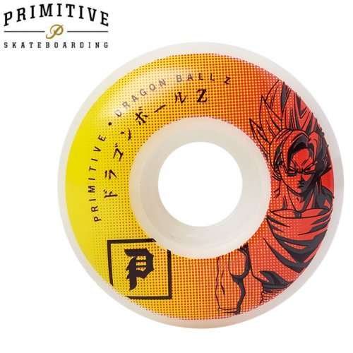 【PRIMITIVE プリミティブ スケボー ウィール】DRAGONBALL Z GOKU TEAM WHEELS ドラゴンボールコラボ【52mm】NO5