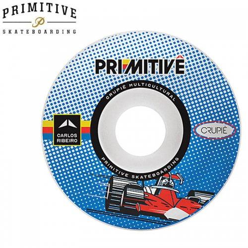 【PRIMITIVE プリミティブ スケボー ウィール】CRUPIE CARLOS RIBEIRO WHEELS 101A【52mm】NO7