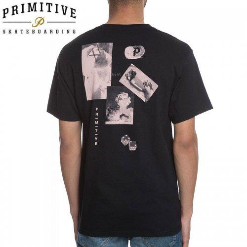 【PRIMITIVE プリミティブ スケボー Tシャツ】MOODS LW TEE【ブラック】NO15