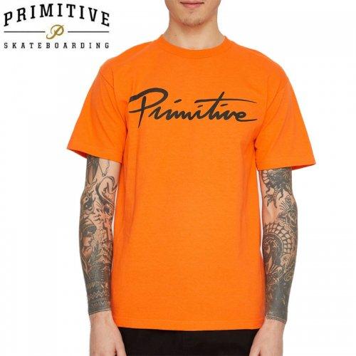 【PRIMITIVE プリミティブ スケボー Tシャツ】DIRTY P CORE TEE【オレンジ】NO18