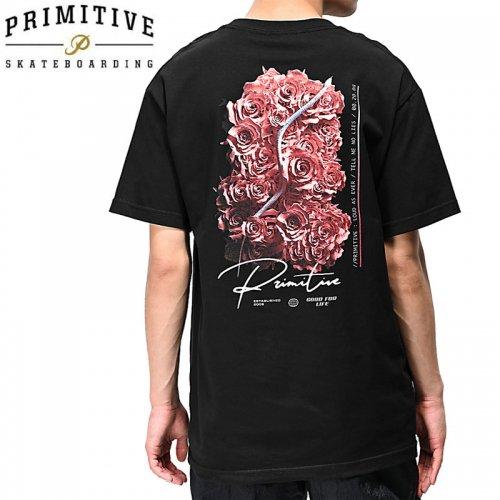 【PRIMITIVE プリミティブ スケボー Tシャツ】NO LIES SS TEE【ブラック】NO22