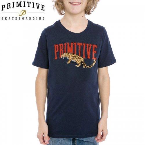 【PRIMITIVE プリミティブ キッズ Tシャツ】STRIKE TEAM YOUTH TEE ユーズサイズ【ネイビー】NO7