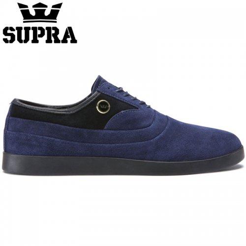 【SUPRA スープラ スケート シューズ】THE GRECO BLUE SUEDE スウェード【ネイビー】NO6
