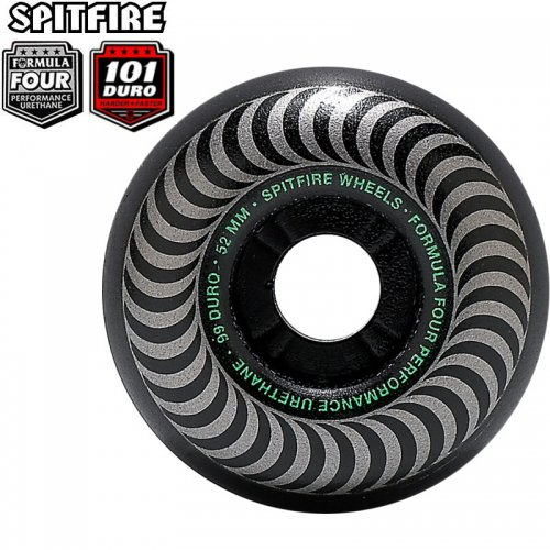 【SPITFIRE スピットファイアー ウィール】FORMULA FOUR F4 101A CLASSIC BLACKOUT【52mm】【53mm】NO262