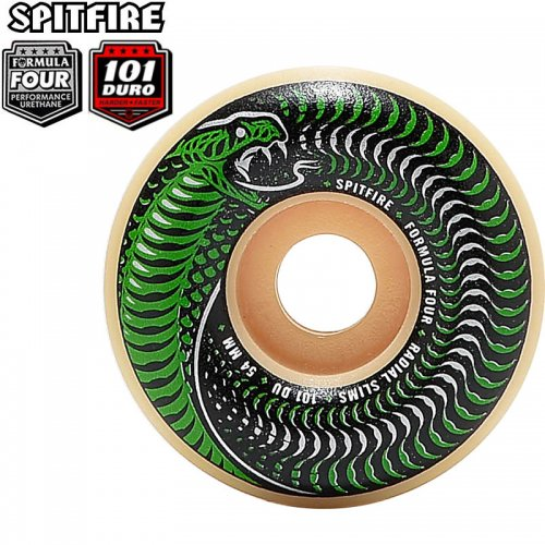 【SPITFIRE スピットファイアー ウィール】FORMULA FOUR F4 101A VENOMOUS RADIAL SLIM【52mm】【53mm】NO265