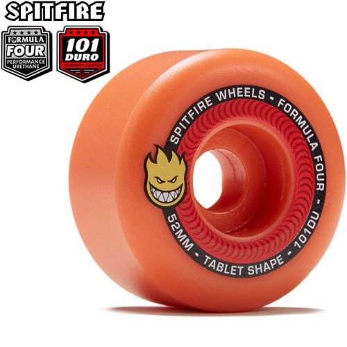 【SPITFIRE スピットファイアー ウィール】FORMULA FOUR F4 101A TABLETS AUROA RED【52mm】NO267