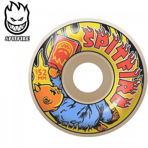【SPITFIRE スピットファイア ウィール】DEMONSEED 99A WHITE【52mm】【54mm】NO268