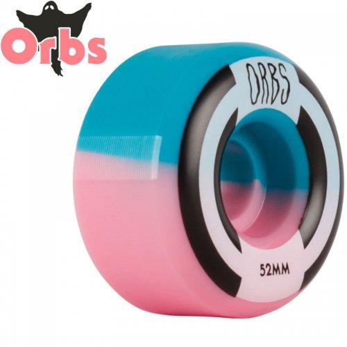 【オーブス ORBS スケボー ウィール】APPARITIONS SPLITS PINK/BLUE フルラウンド 99A【52mm】NO13