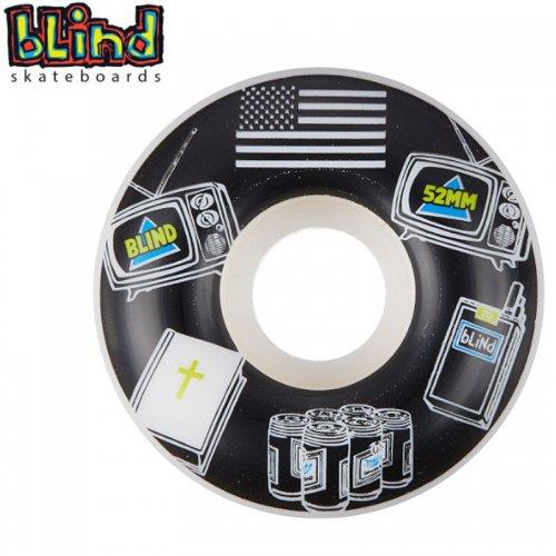 【ブラインド BLIND スケボー ウィール】AMERICAN ICONS WHEELS 99A【52mm】NO27