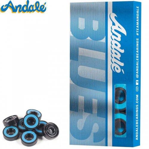 【ANDALE アンダレー スケボー ベアリング】BLUES BEARINGS ABEC5相当 NO8