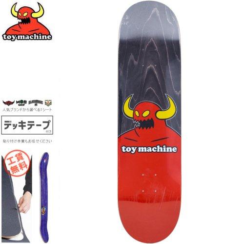 【トイマシーン TOY MACHINE デッキ】MONSTER BLACK DECK[7.75インチ][8.1インチ][8.38インチ]NO176