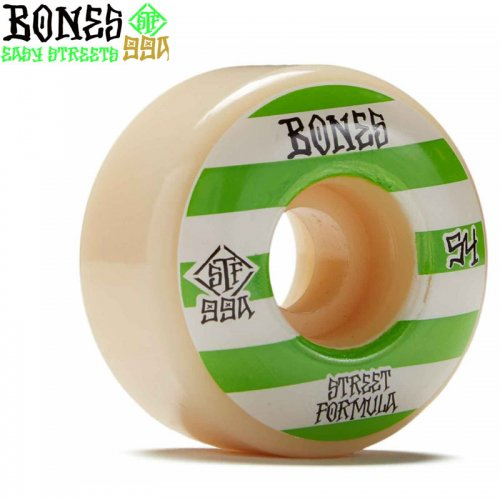 【ボーンズ BONES スケボーウィール】STF PATTERNS V4 WIDE 99A【52mm】【53mm】【54mm】NO203
