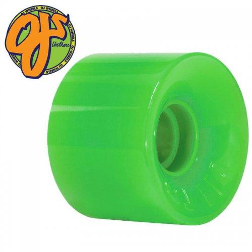 【オージェイ OJ3 クルーザー ウィール】HOT JUICE GREEN 375C 78A【55mm】NO50