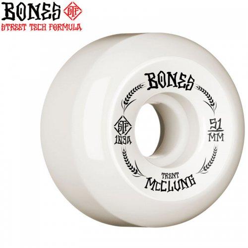 【ボーンズ BONES スケボー ウィール】PRO STF V5 SIDECUT 103A TRENT MCCLUNG OATS【51mm】NO215