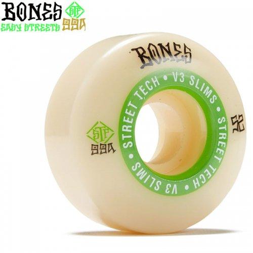 【ボーンズ BONES スケボーウィール】STF NINETY-NINES V3 SLIMS 99A【54mm】NO216