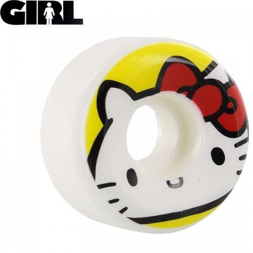 【GIRLSKATEBOARD ガールスケートボード ウィール】HELLO KITTY 45 SANRIO 99A【52mm】NO38