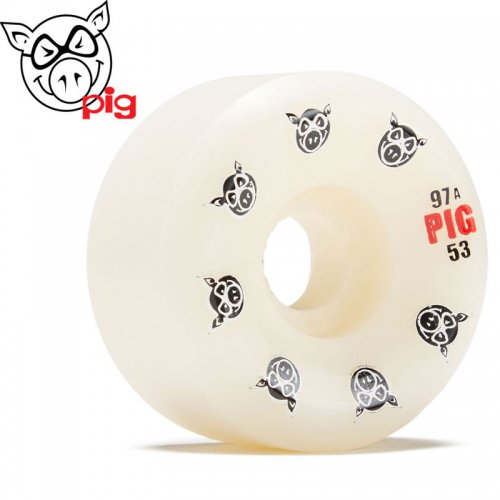 【ピッグ PIG WHEELS ウィール】MULTI PIG HEAD CONICAL NATURAL 97A【53mm】【55mm】NO44