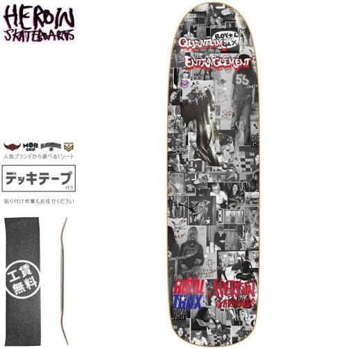 【HEROIN SKATEBOARDS ヘロイン デッキ】ROYAL TRUX DECK[8.88インチ]オールドスクール NO49