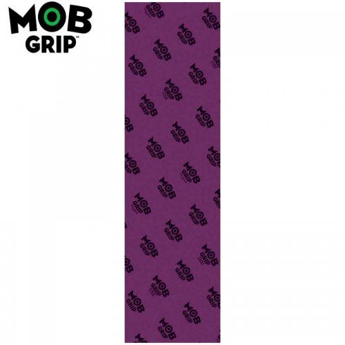 【モブグリップ MOB GRIP デッキテープ】TRANS COLORS GRAPHIC クリアパープル GRIPTAPE 9 x 33 NO123