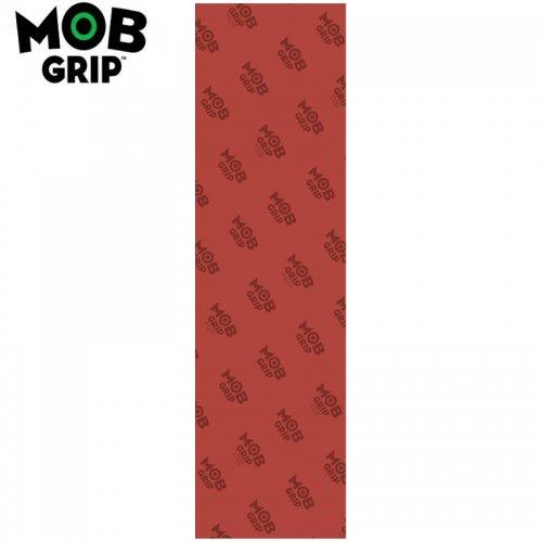 【モブグリップ MOB GRIP デッキテープ】TRANS COLORS GRAPHIC クリアレッド GRIPTAPE 9 x 33 NO124