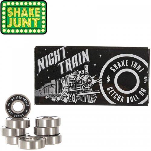 【シェイクジャント SHAKE JUNT スケボー ベアリング】NIGHT TRAIN BEARINGS ABEC5相当 NO5