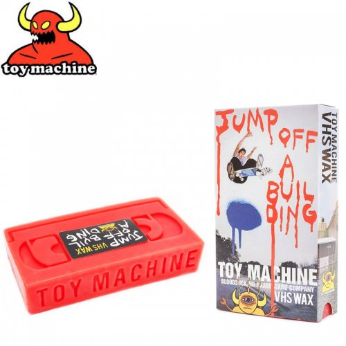 【トイマシーン TOY MACHINE スケボー ワックス】TOY MACHINE VHS WAX JUMP NO4