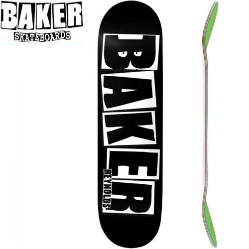 【ベーカー BAKER スケボー デッキ】AR BRAND NAME BLACK/WHITE[8.125インチ]NO259