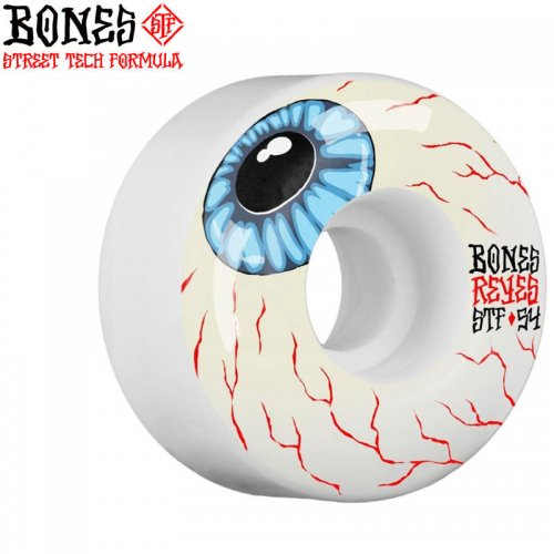 【ボーンズ BONES スケボー ウィール】PRO STF V4 103A REYES EYEBALL【54mm】NO218