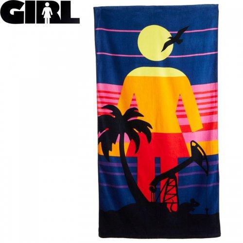 【GIRL ガールスケートボード ビーチタオル】RAT BEACH TOWEL 152 x 76cm NO2