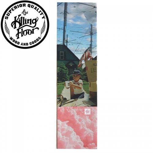 【キリングフロアー THE KILLING FLOOR スケボー デッキテープ】HAARP GRIPTAPE 9 x 33 NO2