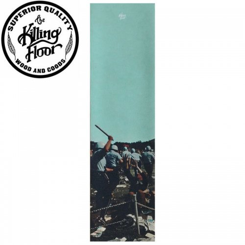 【キリングフロアー THE KILLING FLOOR スケボー デッキテープ】RIOT GRIPTAPE 9 x 33 NO4