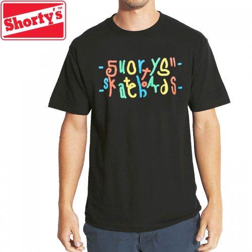 【ショーティーズ SHORTY'S スケボー Tシャツ】EFF YOU TEE【ブラック】NO49