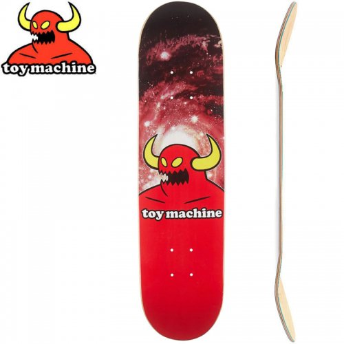 【トイマシーン TOY MACHINE キッズ デッキ】MONSTER GALAXY MINI DECK[7.38インチ]NO8