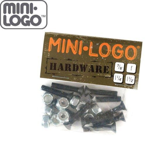【MINI LOGO ミニロゴ スケートボード ハードウェア ボルト】HARDWARE BOLT プラス【7/8】【1】【1-1/8】【1-1/4】【1-1/2】NO5
