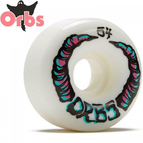 【オーブス ORBS スケボー ウィール】ORBS APPARATIONS フルラウンド 99A ホワイト【54mm】NO17